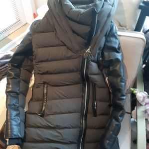 Rusack olive green down coat S